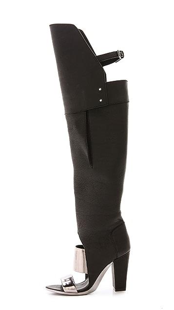 3.1 Phillip Lim Ora Peep Toe Boots