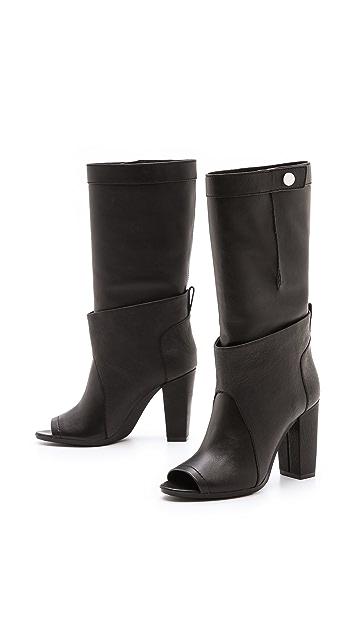 3.1 Phillip Lim Issa Peep Toe Boots