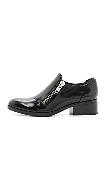3.1 Phillip Lim Alexa Zip Oxfords