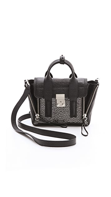3.1 Phillip Lim Two Tone Mini Pashli Satchel