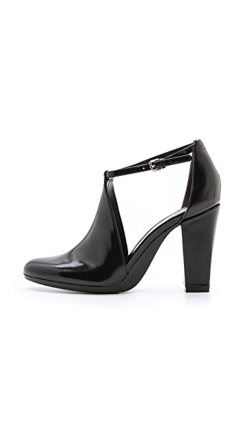 3.1 Phillip Lim Plume Cutout Booties