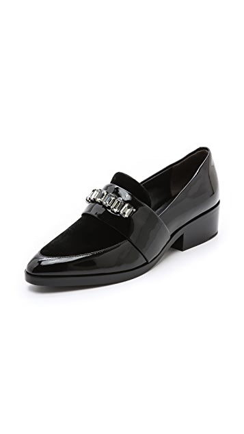 3.1 Phillip Lim Quinn Loafers with Stones