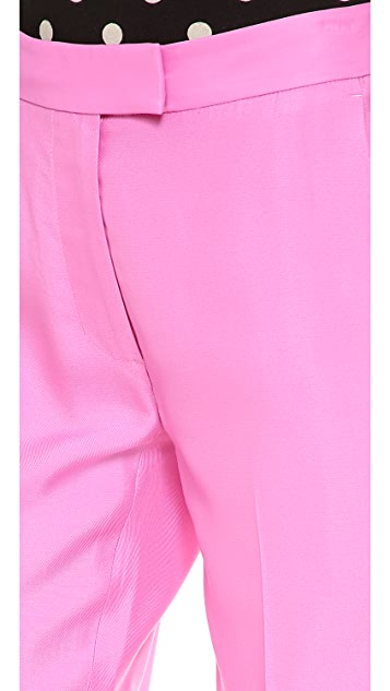 3.1 Phillip Lim Inset Tuxedo Stripe Pants
