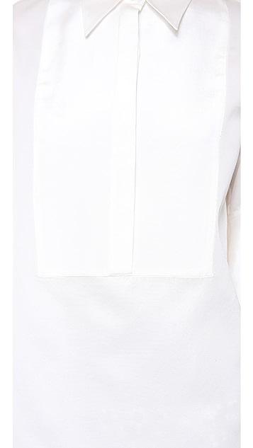 3.1 Phillip Lim Exaggerated Cuff Tuxedo Shirt