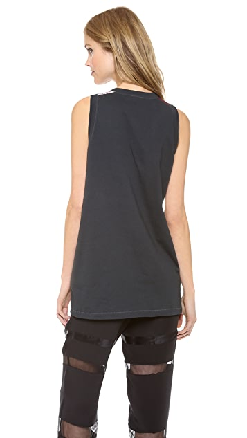 3.1 Phillip Lim Printed Muscle Tank