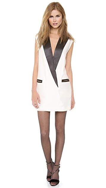 3.1 Phillip Lim Pegged Tuxedo Dress