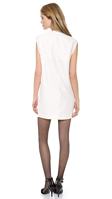 3.1 Phillip Lim Pegged Tuxedo Dress