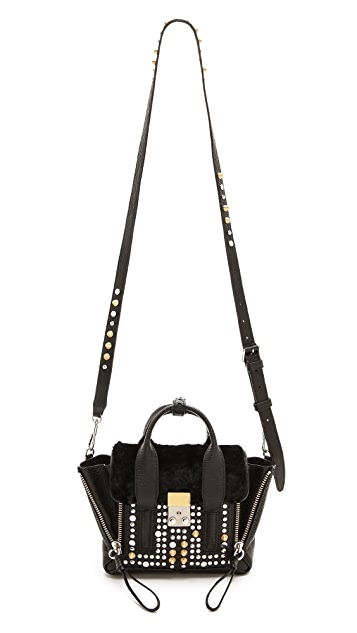 3.1 Phillip Lim Mini Pashli Satchel with Fur