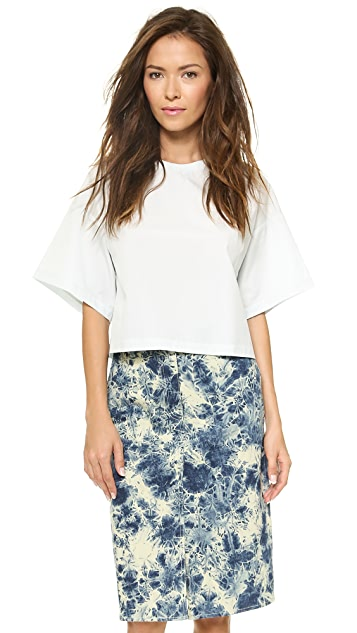 3.1 Phillip Lim Cropped Boxy Tee