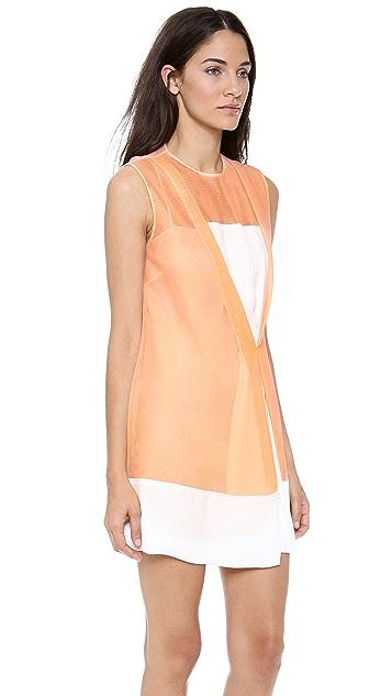 3.1 Phillip Lim Crossover Front Drape Dress