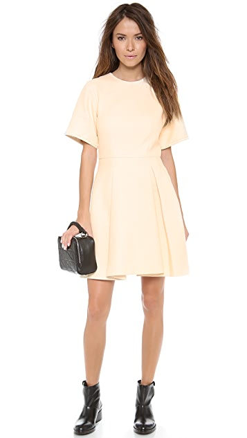 3.1 Phillip Lim Raw Edge Detail Dress