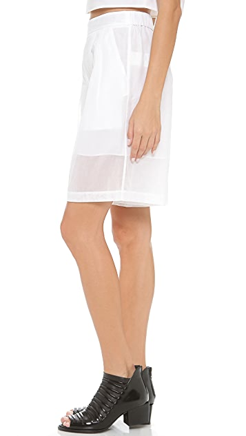 3.1 Phillip Lim Pleated Full Shorts