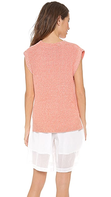 3.1 Phillip Lim Sleeveless V Neck Pullover