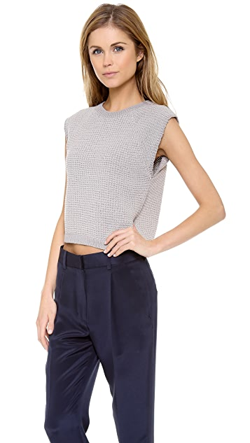 3.1 Phillip Lim Knit Muscle Tank Pullover