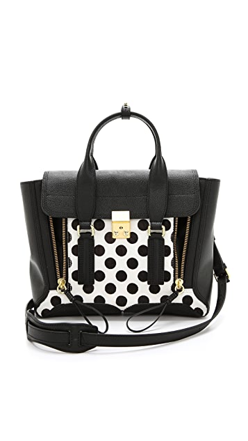 3.1 Phillip Lim Pashli Medium Haircalf Satchel