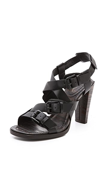 3.1 Phillip Lim Ada Strappy Buckle Sandals