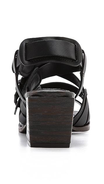 3.1 Phillip Lim Bee Chunky Heel Sandals