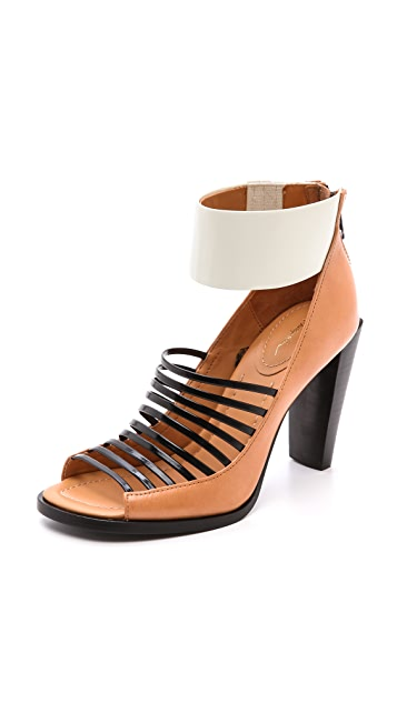 3.1 Phillip Lim Dede Cutout Ankle Booties