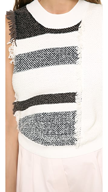 3.1 Phillip Lim Multicolor Fringed Vest