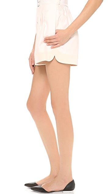 3.1 Phillip Lim Curved Hem Shorts
