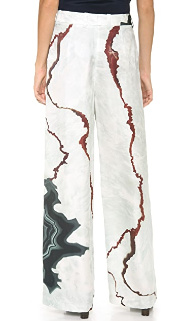 3.1 Phillip Lim Geode Wide Leg Pants