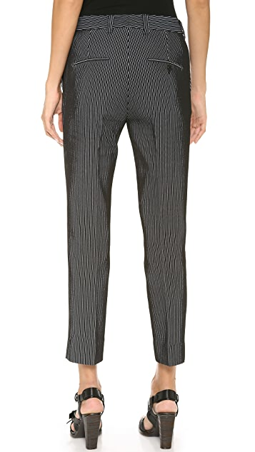 3.1 Phillip Lim Pinstripe Crop Pencil Pants
