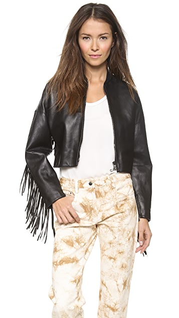 3.1 Phillip Lim Fringed Bomber Jacket