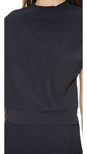 3.1 Phillip Lim Layer Geometric Stitch Dress