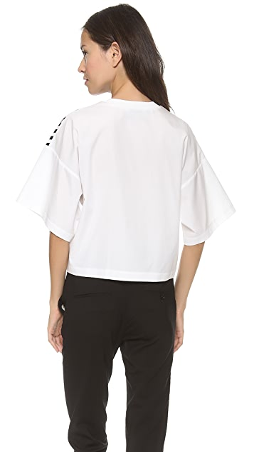 3.1 Phillip Lim Animal Kingdom Cropped Boxy Shirt