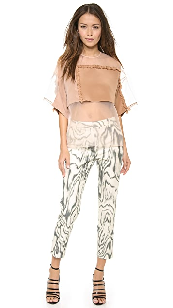 3.1 Phillip Lim Psychedelic Pencil Pants