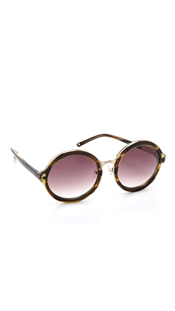 3.1 Phillip Lim Glam Round Sunglasses