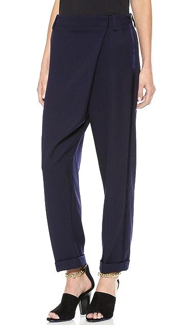 3.1 Phillip Lim Cross Front Cuff Pants