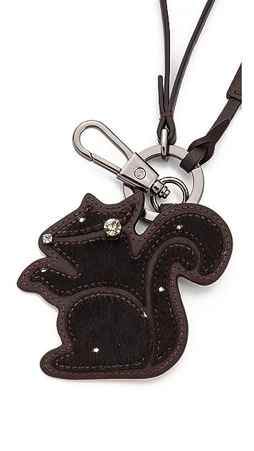 3.1 Phillip Lim Squirrel Pathwork Haircalf Keychain
