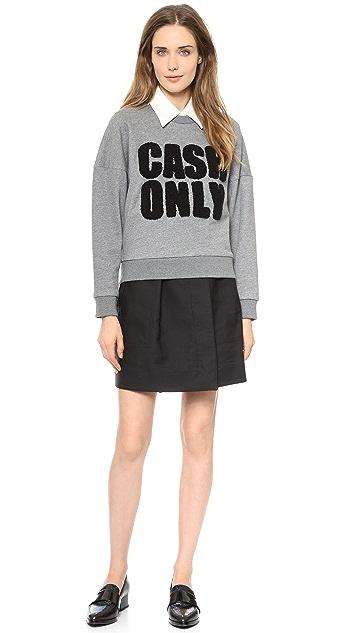 3.1 Phillip Lim Cash Only Sweatshirt