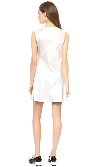 3.1 Phillip Lim Curved Yoke Draped Dress