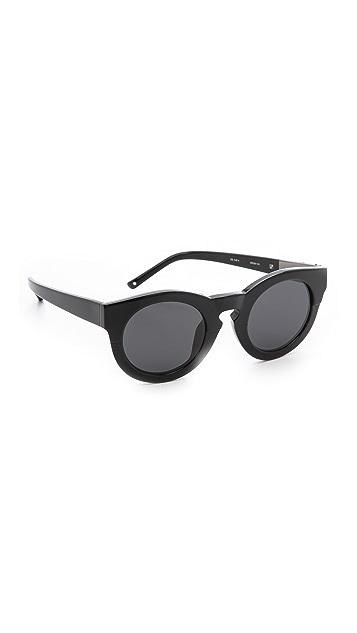 3.1 Phillip Lim Thick Frame Sunglasses | SHOPBOP