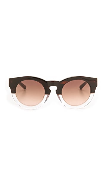 3.1 Phillip Lim Thick Frame Sunglasses