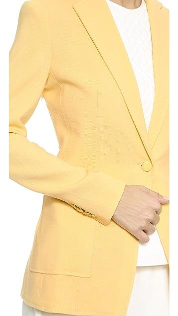 3.1 Phillip Lim Cutaway Button Blazer