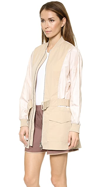 3.1 Phillip Lim Belted Safari Jacket