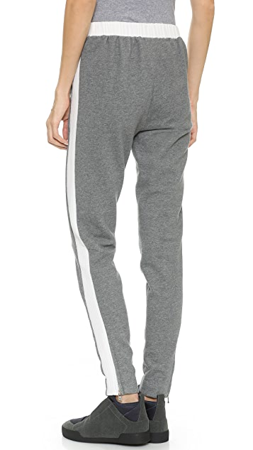 3.1 Phillip Lim Quilted Stripe Track Pants