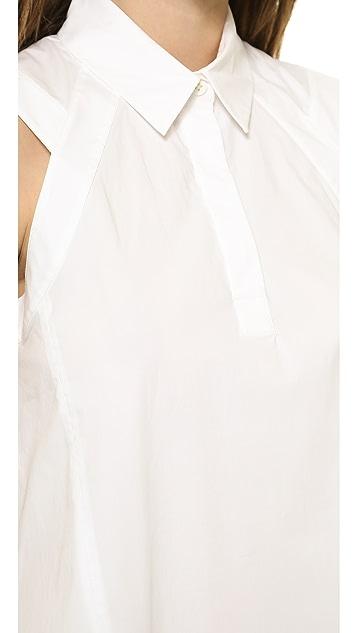 4da348d5616aec ... 3.1 Phillip Lim Sleeveless Trapeze Dress