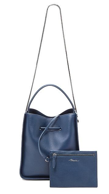 3.1 Phillip Lim Soleil Small Bucket Drawstring Bag