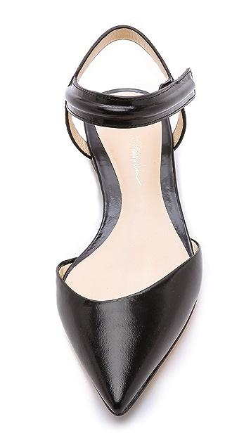 3.1 Phillip Lim Martini Ankle Strap Flats