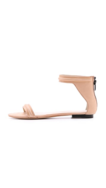 3.1 Phillip Lim Martini Flat Sandals