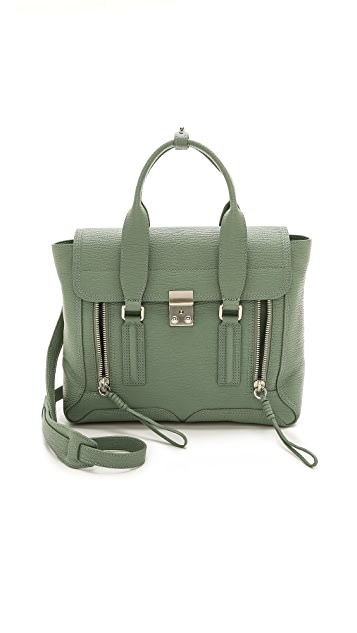 3.1 Phillip Lim Pashli Medium Satchel with Stitch Detail