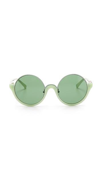 3.1 Phillip Lim Rimless Top Sunglasses