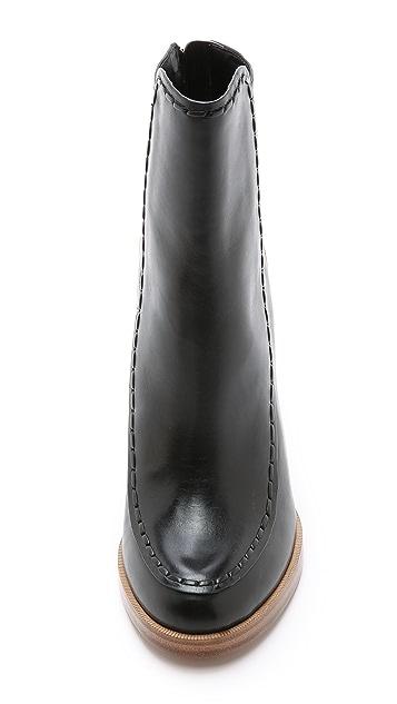 3.1 Phillip Lim Jasper Saddle Stitch Booties