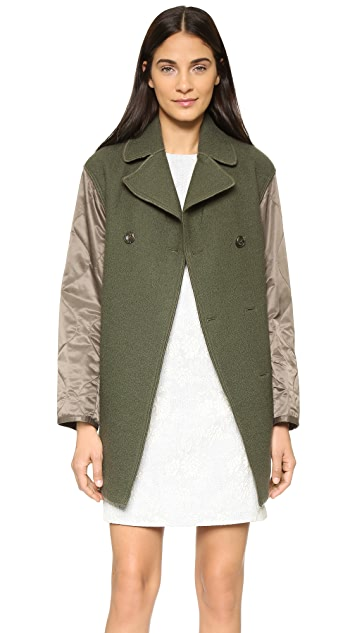 3.1 Phillip Lim Two Button Pea Coat
