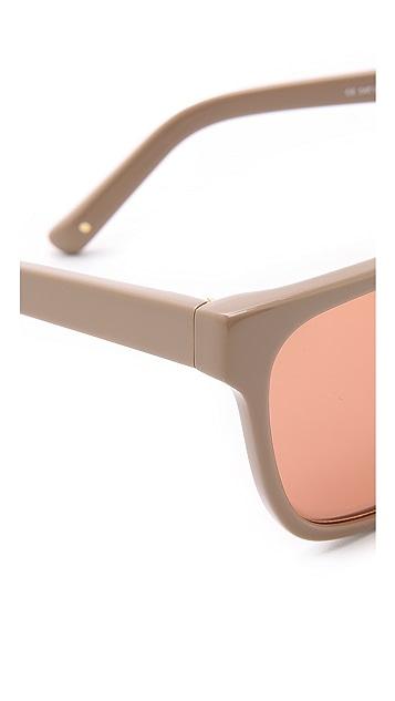 3.1 Phillip Lim Солнцезащитные очки в квадратной оправе