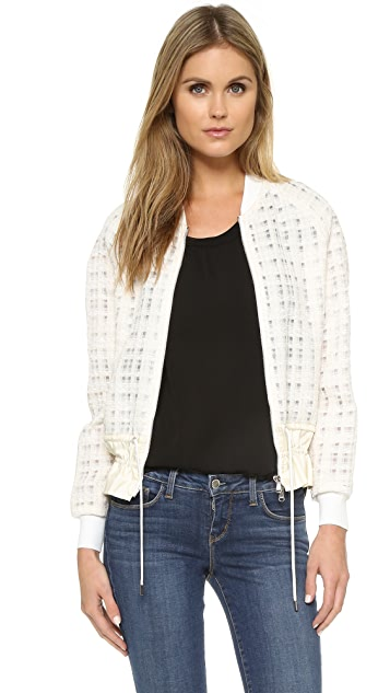 3.1 Phillip Lim Bomber Jacket with Cinched Hem